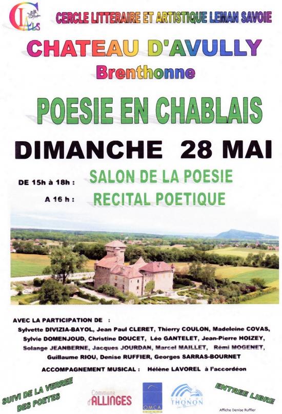 Château d'Avully, Chablais, CLALS,