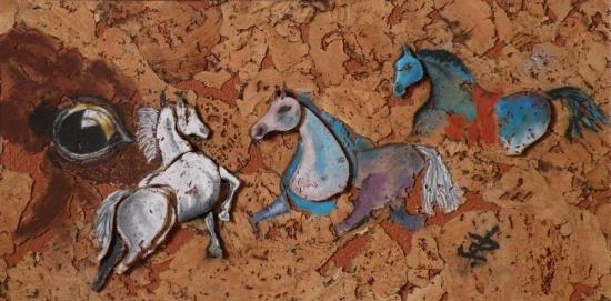 chevaux, Jean-Paul Cléret,