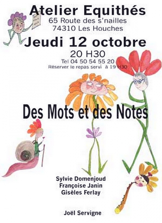 sylvie domenjoud,spectacles,poesie