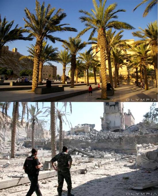 madeleine covas, Alep, Syrie