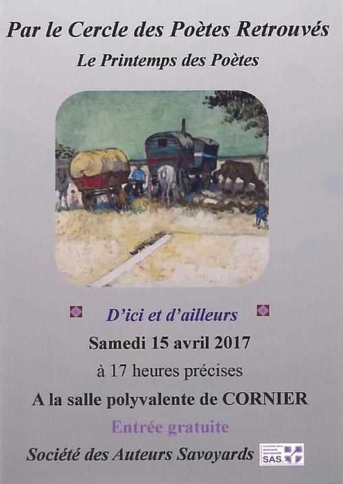 printemps des poètes, Haute-Savoie, Cornier, CPR, 2017