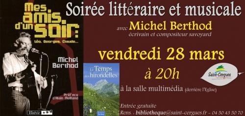 Michel Berthod, musique