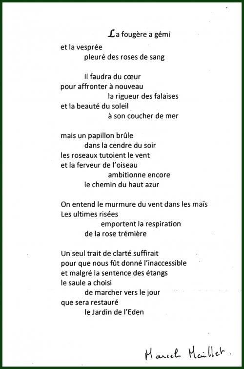 marcel maillet,poemes,poesie